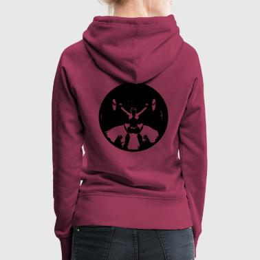 Girl Snatch Black small - Women's Premium Hoodie