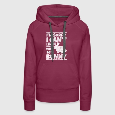 Shirt for bunny lovers as a gift - Women's Premium Hoodie