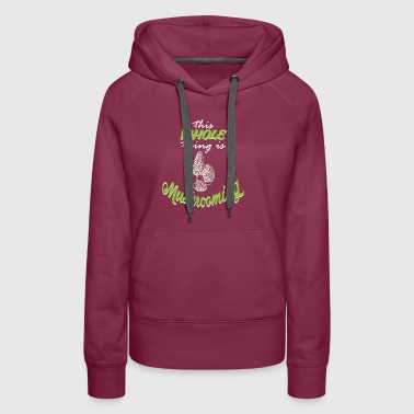 Mushrooms in the forests - Women's Premium Hoodie