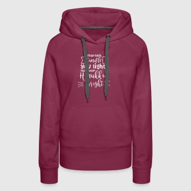 New Design Make Your Hanukkah Bright Best Seller - Women's Premium Hoodie