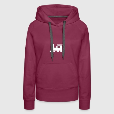 Steam Train - Women's Premium Hoodie