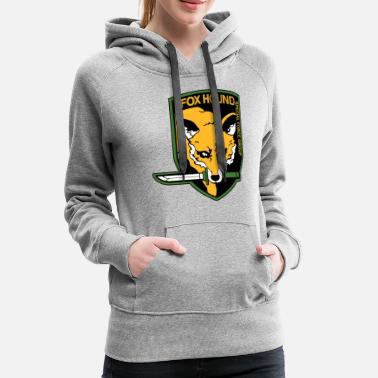 Special FOXHOUND special forces - Women's Premium Hoodie