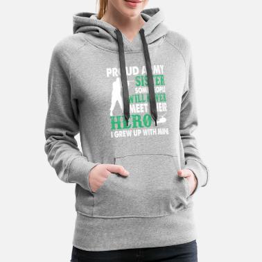 e84350d3 Proud Army Sister T Shirt - Women's Premium Hoodie