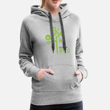 Eco eco go green - be smart - Women's Premium Hoodie