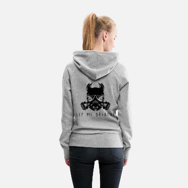 Dying Light Air Pollution-Dying Light - Gas Mask - Women's Premium Hoodie