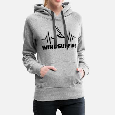 Sports Water Windsurfing - Women's Premium Hoodie