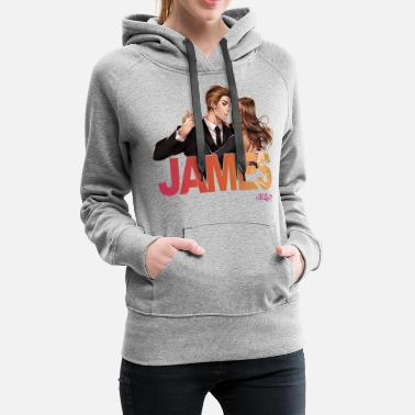 Is It Love? James & Chara - Women's Premium Hoodie