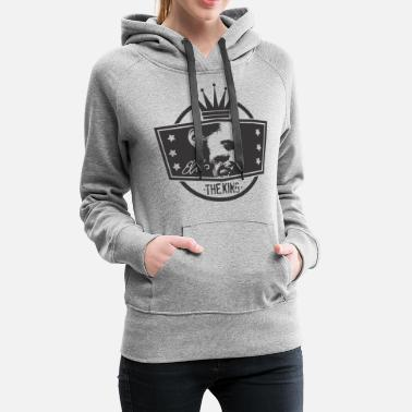 Elvis The King Elvis - Women's Premium Hoodie