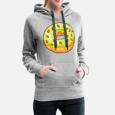 Confiserie Donuts Bakery Cookie Candy Sweets Cake Confiserie - Women's Premium Hoodie