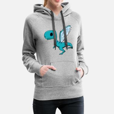 Fly Fly Dino Fly - Women's Premium Hoodie