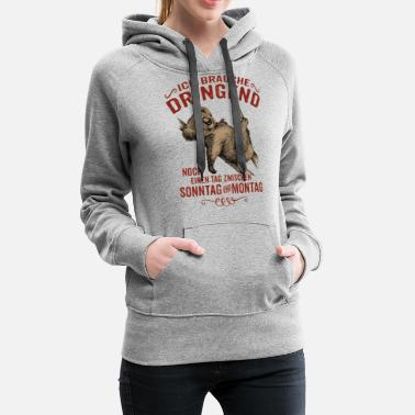 Funny party Malle Mallorca bachelor gift - Women's Premium Hoodie