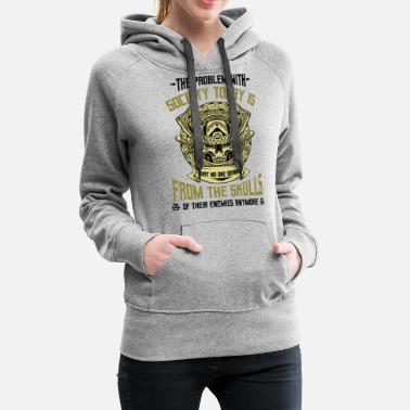 Celtic Vikings Funny Sayings Cool Nordic Quote Celtic - Women's Premium Hoodie