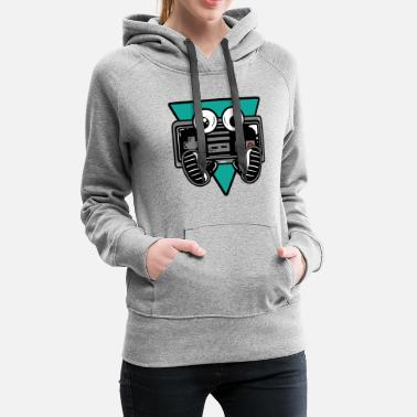 Console Gaming Controller Nerdy - Women's Premium Hoodie