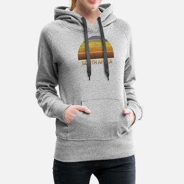 Cleaning Man Vintage Sunset Family Vacation Souvenir South - Women's Premium Hoodie