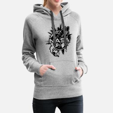 Weightless Spaceship Space - Women's Premium Hoodie