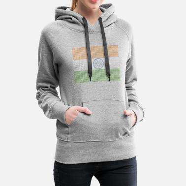 New Delhi Indian Flag New Delhi - Women's Premium Hoodie