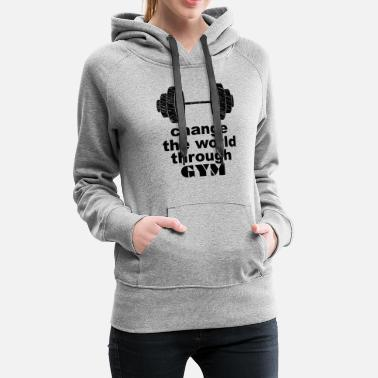 Wretch change gym - Women's Premium Hoodie