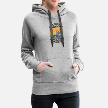 Truss Truss Me - Civil Engineer - D3 Designs - Women's Premium Hoodie