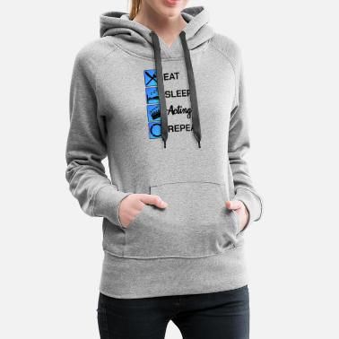 Hollywood Acting Actor Audition Gift - Women's Premium Hoodie