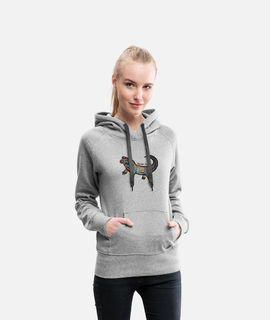 Trippy Hoodies & Sweatshirts - Trippy T-shirt - Women's Premium Hoodie heather gray