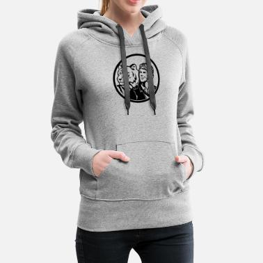 World War 2 World War 2 Pilot Airman - Women's Premium Hoodie