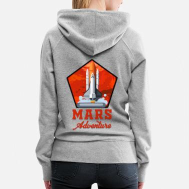 Full Moon Mars Adventure - Women's Premium Hoodie