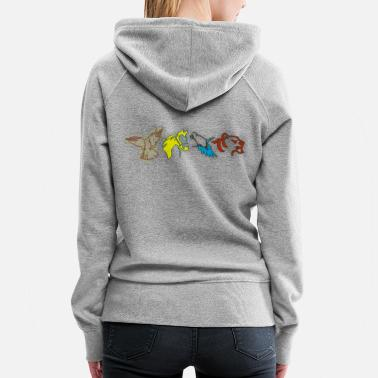 Animal Lover Animals lover animal - Women's Premium Hoodie