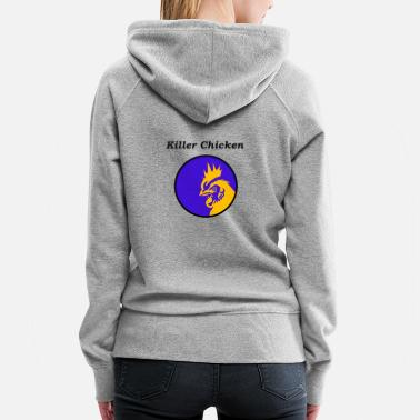 Killer Chicken - Women's Premium Hoodie