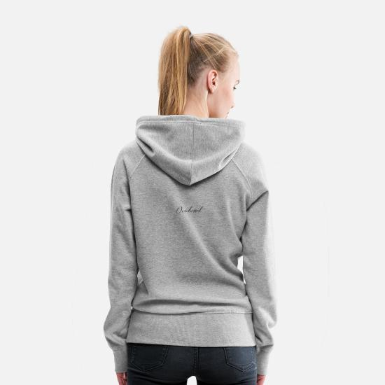 Birthday Hoodies & Sweatshirts - Overdressed - Women's Premium Hoodie heather gray