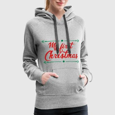 First first christmas - Women's Premium Hoodie
