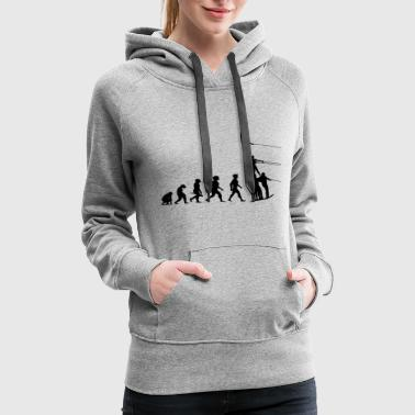 Water Sports Evolution Water Ski Water Sports - Women's Premium Hoodie
