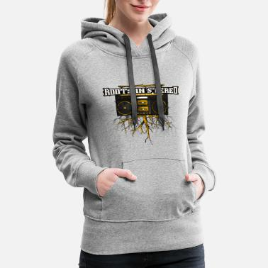 Stereo ROOTS-IN-STEREO - Women's Premium Hoodie