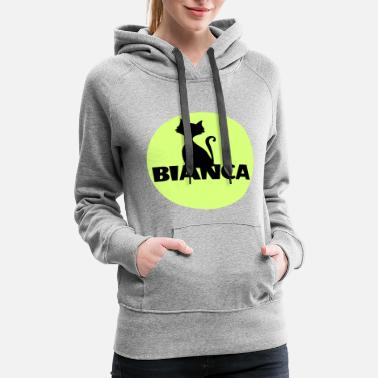 First Name Bianca name first name - Women's Premium Hoodie