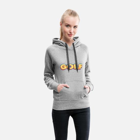 Rap Hoodies & Sweatshirts - golf wang 3D shirt - Women's Premium Hoodie heather gray