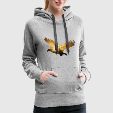 eagle usa america bird fly freedom liberty - Women's Premium Hoodie