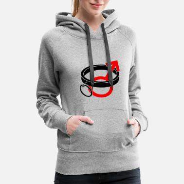Submission Submissive Male - Women's Premium Hoodie