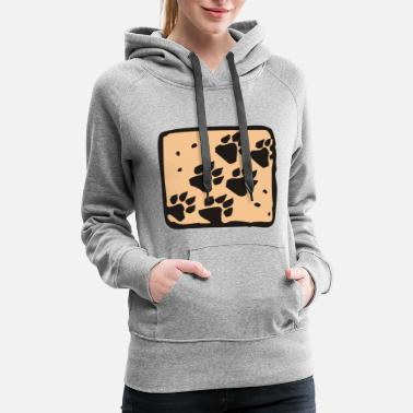 Greenpeace Animal Tracks - Women's Premium Hoodie