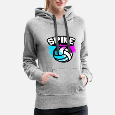 Congratulations Spike Volleyball - Women's Premium Hoodie