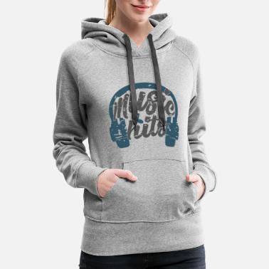 music hits collection - Women's Premium Hoodie