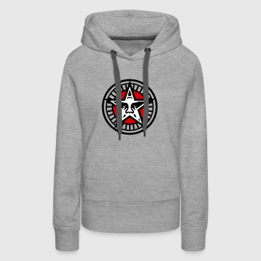 Obey Star Face - Women's Premium Hoodie