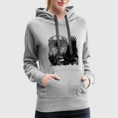 Majesty Majesty Eagle - Majesty Eagle - Women's Premium Hoodie