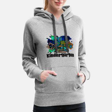 Apple Team Kindergarten Teacher Shirt - Women's Premium Hoodie