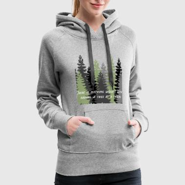 Happy Little Trees T-Shirts & Gifts Bob Style - Women's Premium Hoodie