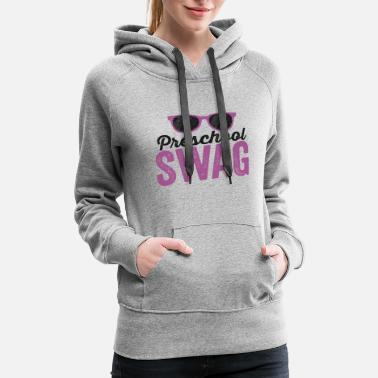 First Name Preschool Swag FIrst Day of School Shirt PreK - Women's Premium Hoodie