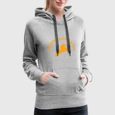 Curves Orange Curve Forgiveness is the Key Christian Believer - Women's Premium Hoodie