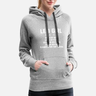 Leo Leo girl hated by many - Women's Premium Hoodie