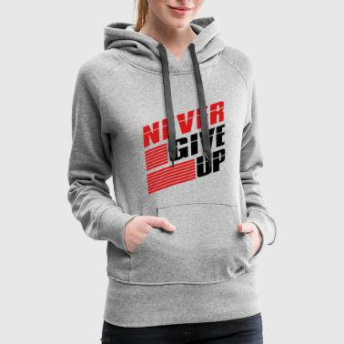 Bar team logo bar strokes we never give up never give - Women's Premium Hoodie