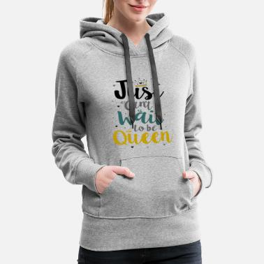 Just can't Wait - Women's Premium Hoodie