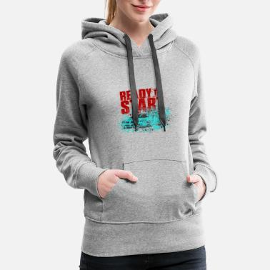 Engineer Ready to Start - Women's Premium Hoodie