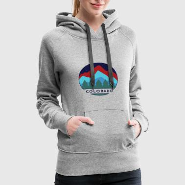 Colorado Mountains Nature Hike - Women's Premium Hoodie